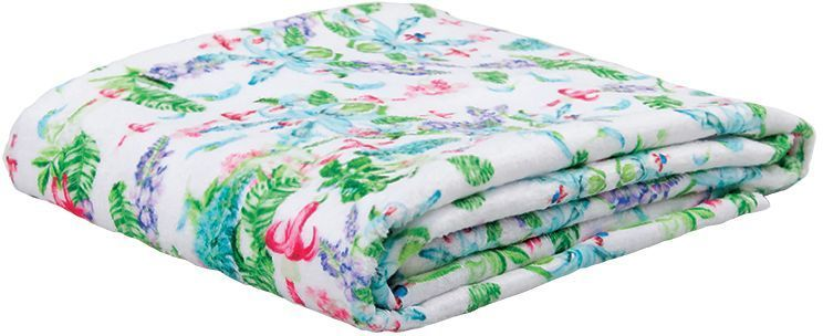 Полотенце банное Mona Liza Jade, цвет: белый, 70 х 140 см mona liza mona liza плед monet classic 140 180 пыльная роза