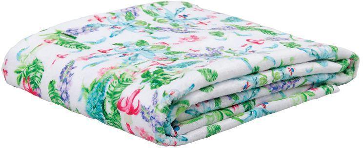 Полотенце банное Mona Liza Jade, цвет: белый, 50 х 90 см полотенце банное mona liza orchid цвет белый 50 х 90 см