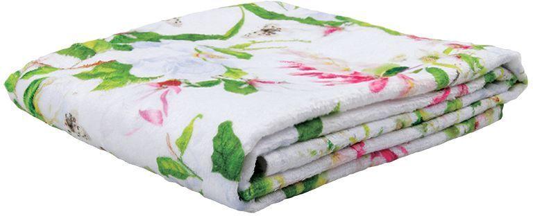 Полотенце банное Mona Liza Magnolia, цвет: белый, 50 х 90 см полотенце банное mona liza orchid цвет белый 50 х 90 см