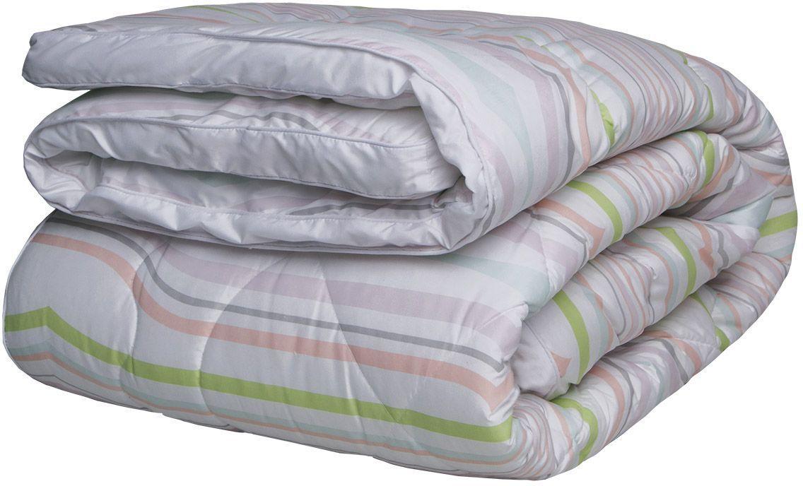 Одеяло Mona Liza Secret Gardens, цвет: белый, 140 x 205 см подушка mona liza 50х70 см лебяжий пух