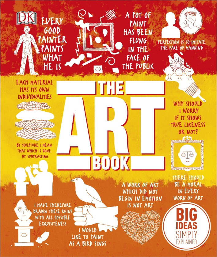 The Art Book: Big Ideas Simply Explained bamboos patterned unframed canvas wall art paintings