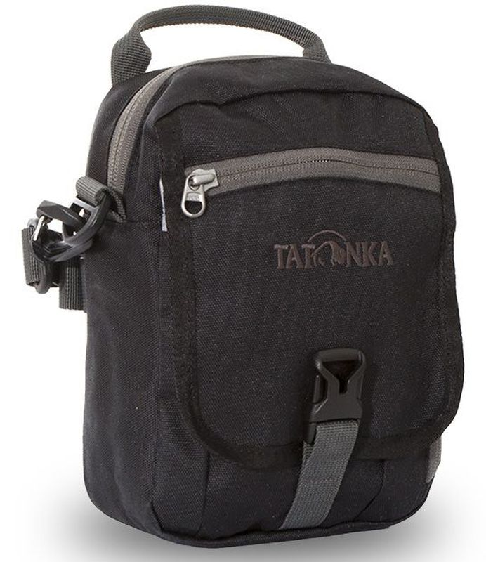 Сумка плечевая Tatonka Check in Clip, цвет: черный, 22 x 15 x 7 см сумка дорожная tatonka squeezy duffle