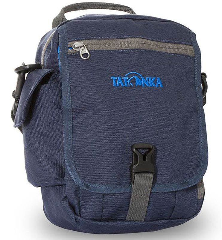 Сумка на плечо Tatonka Check in Clip, цвет: темно-синий, 23 x 17 x 8 см сумка дорожная tatonka squeezy duffle