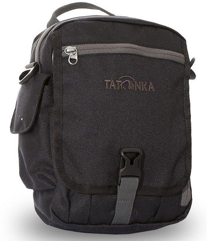 Сумка на плечо Tatonka Check in Clip, цвет: черный, 23 x 17 x 8 см сумка дорожная tatonka squeezy duffle