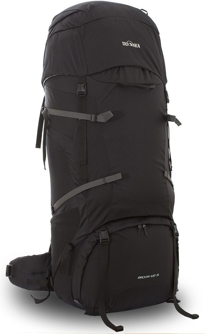 """Рюкзак туристический Tatonka """"Mackay"""", цвет: черный, 135 л"""