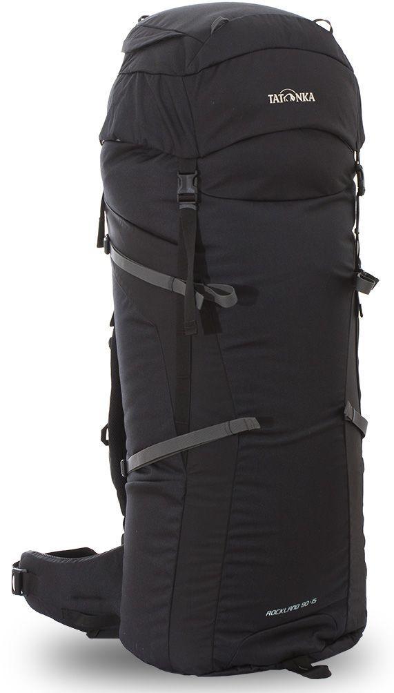"""Рюкзак туристический Tatonka """"Rockland"""", цвет: черный, 105 л"""
