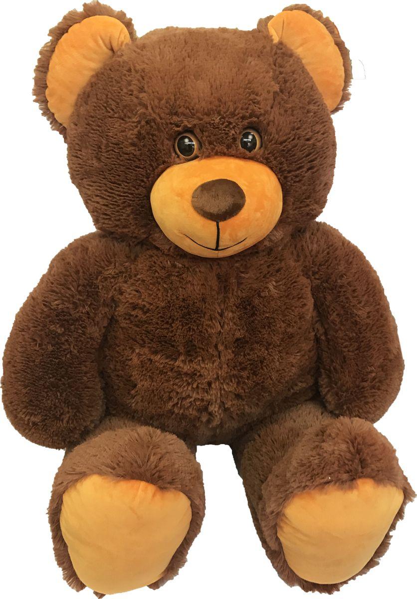 СмолТойс Мягкая игрушка Медведь цвет коричневый 103 см