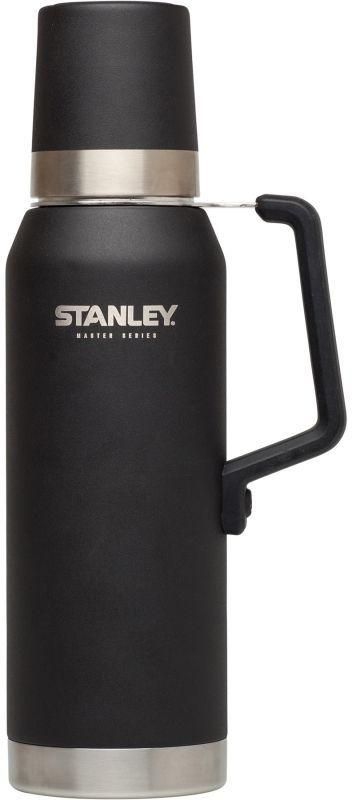 Термос Stanley Master, цвет: черный, 1,3 л