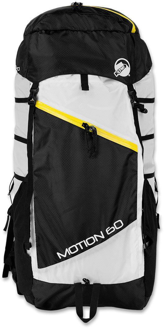 цена на Рюкзак туристический Klymit Motion, цвет: черный, белый, 60 л