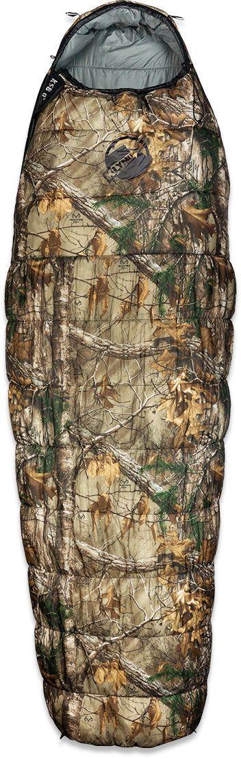 Спальный мешок Klymit KSB 0°, цвет: камуфляж, правосторонняя молния
