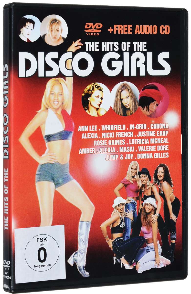 The Hits Of Disco Girls (CD + DVD)