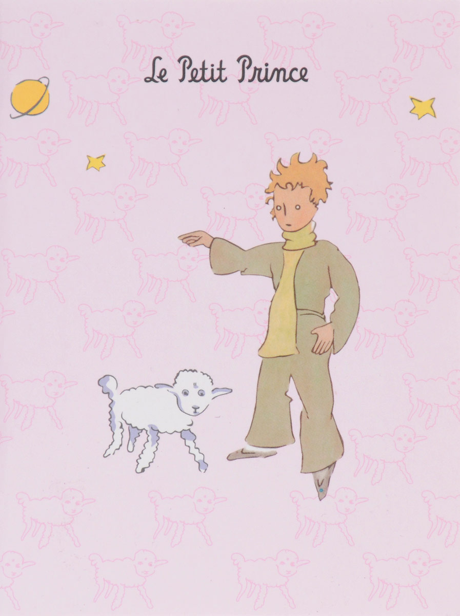 Блокнот Маленький принц. Паттерны 2