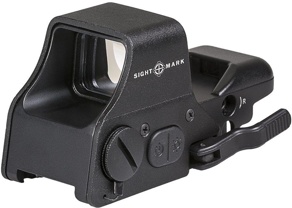 Прицел коллиматорный Sightmark, панорамный на Weaver/Picatinny, со сменной маркой, SM26008, черный