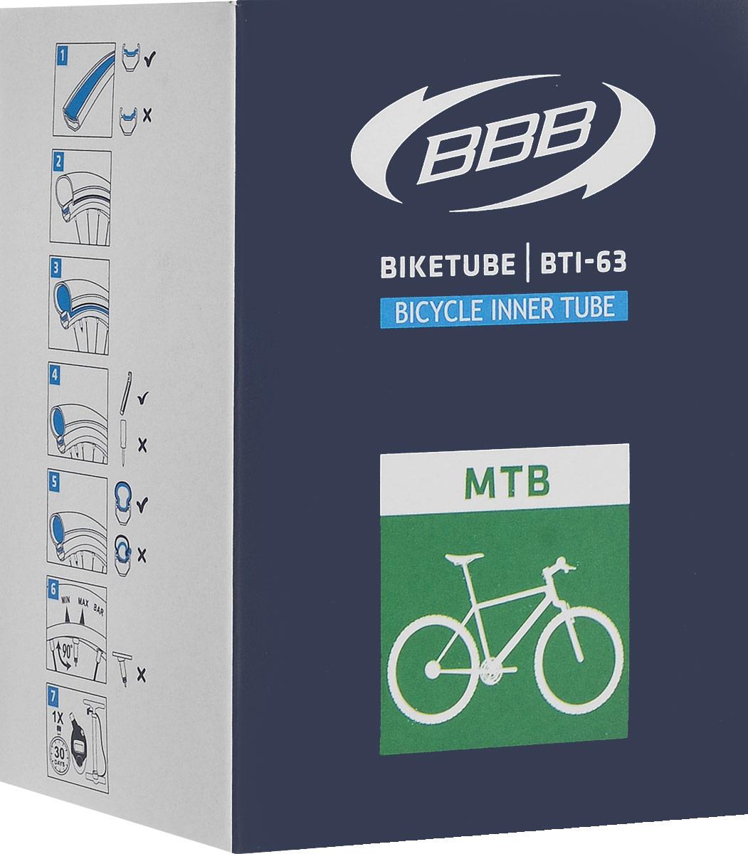 "Камера велосипедная ""BBB"", диаметр 26"""