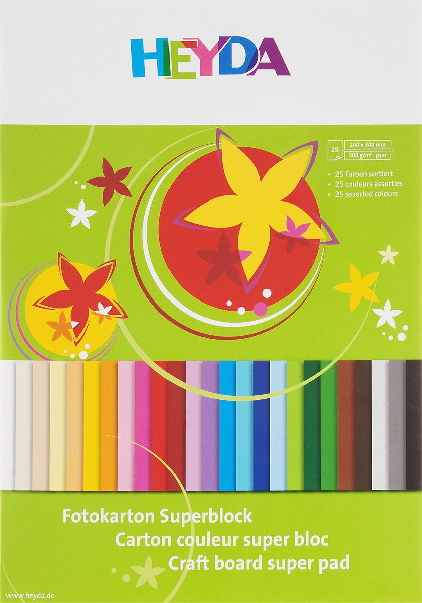 Heyda Цветной картон 25 листов