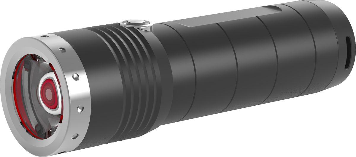 Фонарь LED Lenser MT6, цвет: черный. 500845