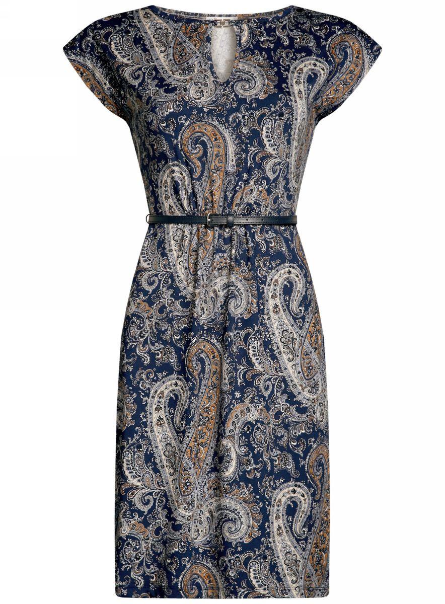 цена Платье oodji Collection онлайн в 2017 году