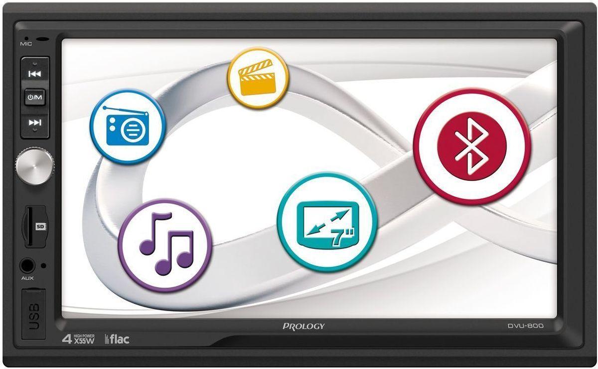 Prology DVU-800, Black автомагнитола prology imap 7300 black