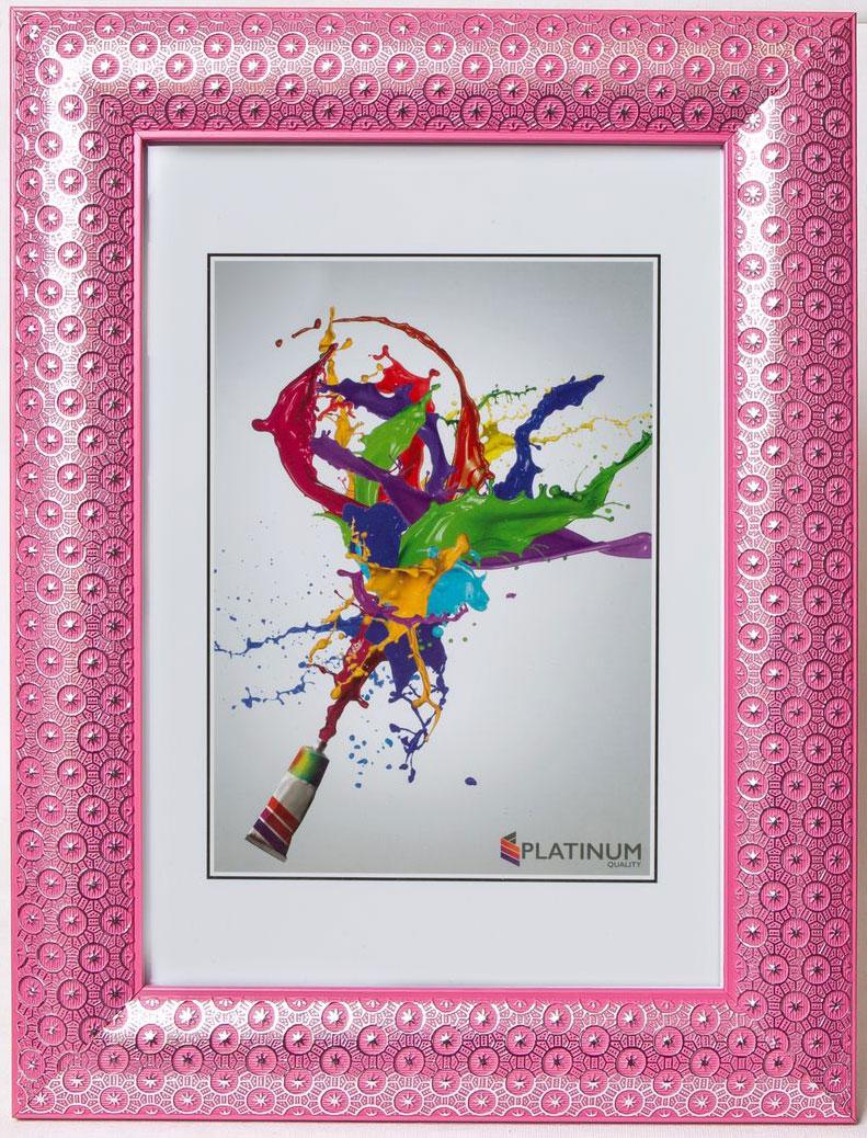 Фоторамка Platinum Флоренция, цвет: розовый, 10 x 15 см фоторамка platinum флоренция цвет розовый 21 x 30 см