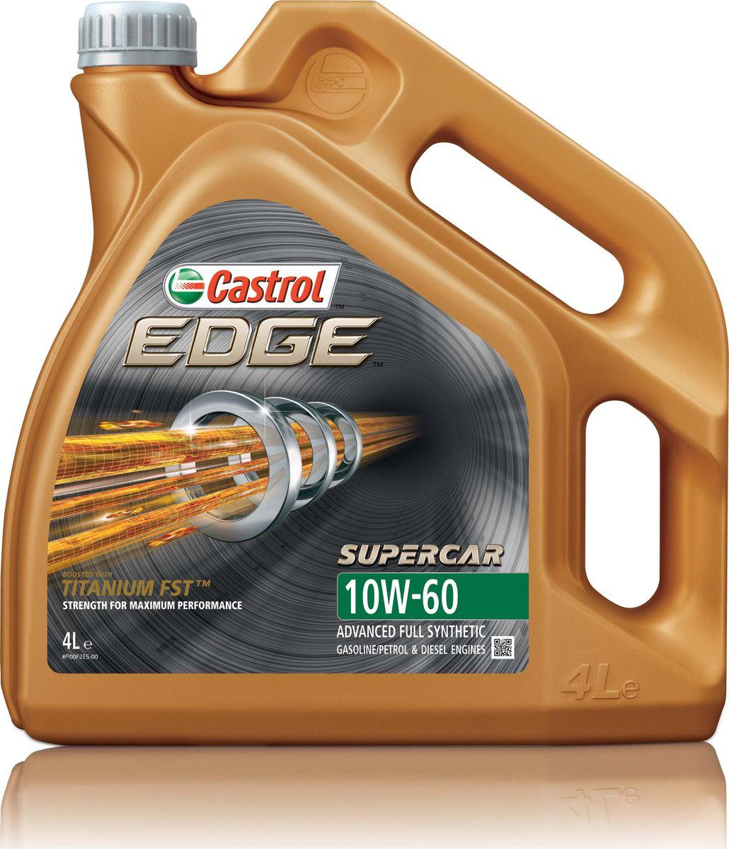 "Масло моторное Castrol ""Edge"", синтетическое, класс вязкости 10W-60, 4 л"