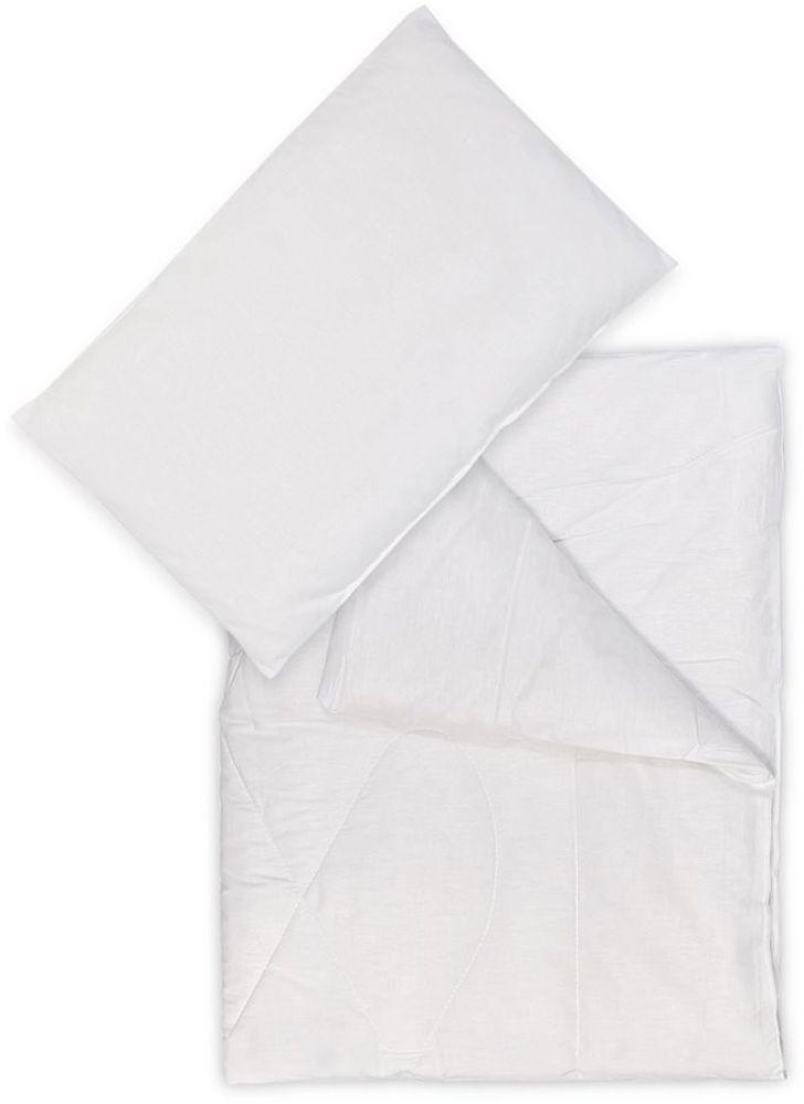 Сонный гномик Комплект в кроватку 2 предмета цвет белый 064 борт в кроватку сонный гномик считалочка салатовый бсс 0358105 3