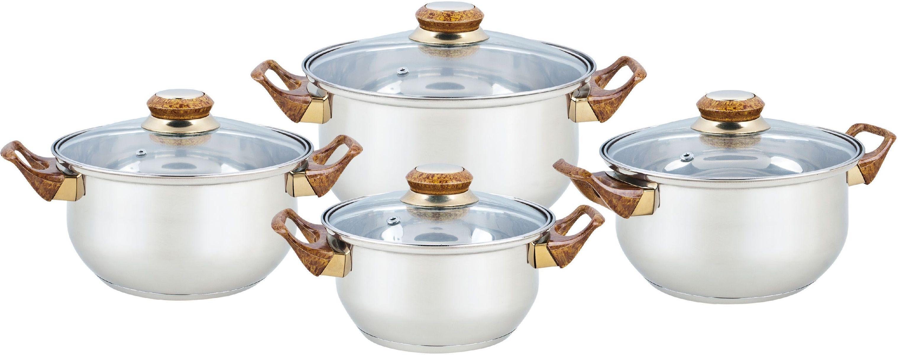 Набор посуды Bekker Classic, 8 предметов. BK-4604 набор посуды bekker classic bk 4604 8 предметов