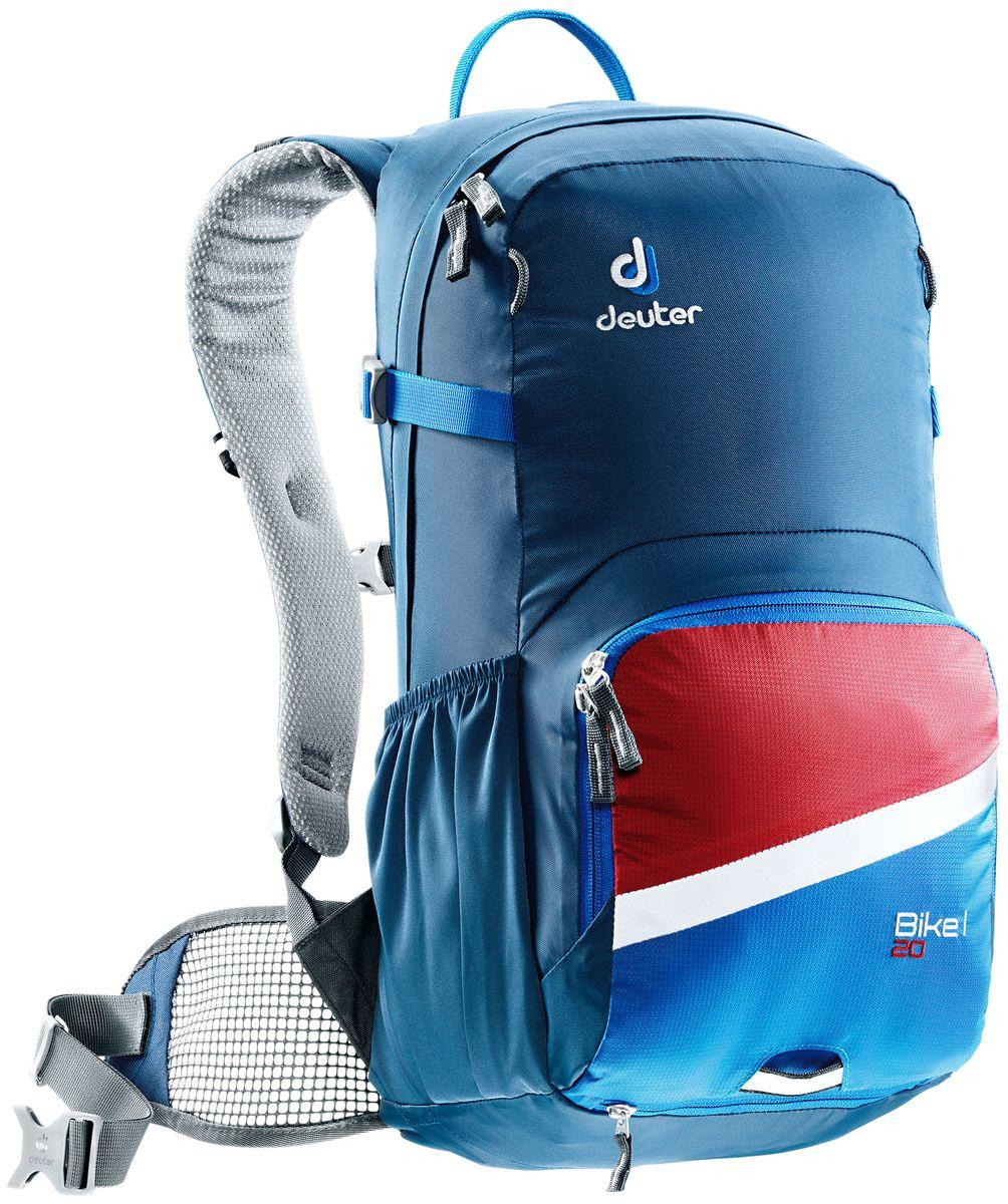 цена на Рюкзак Deuter Bike I 20, цвет: синий, 20 л