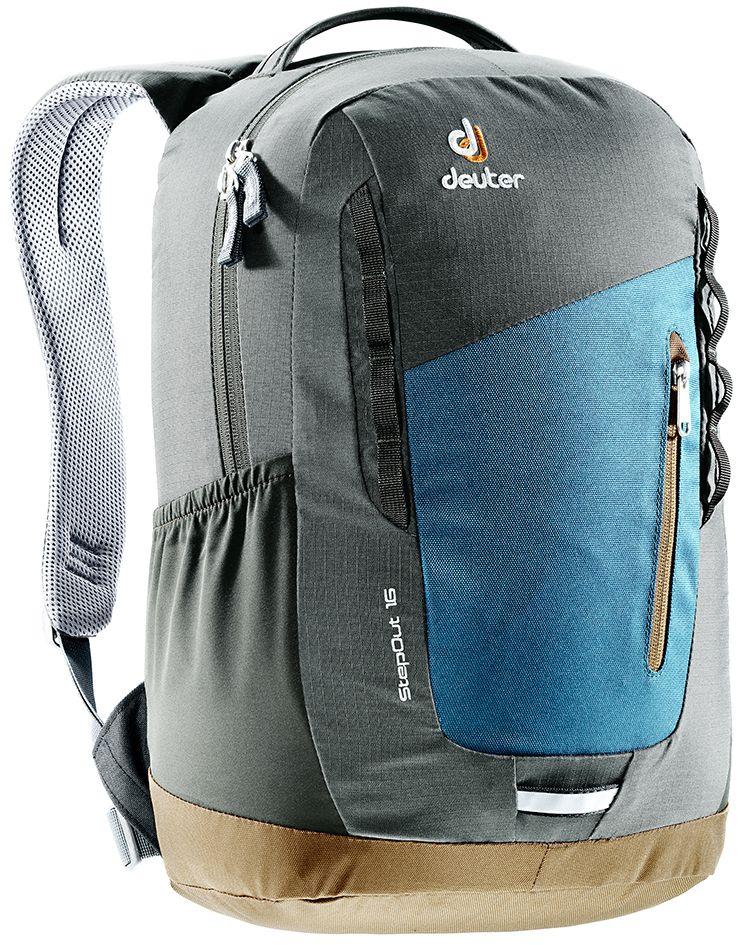 Рюкзак Deuter Daypacks StepOut 16, цвет: серый, 16 л цена