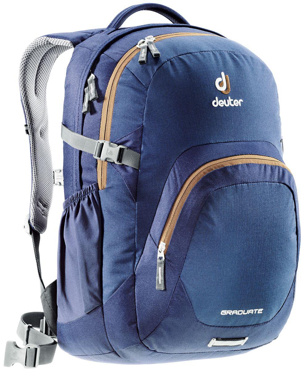 Рюкзак Deuter Daypacks Graduate, цвет: темно-синий, 28 л цена