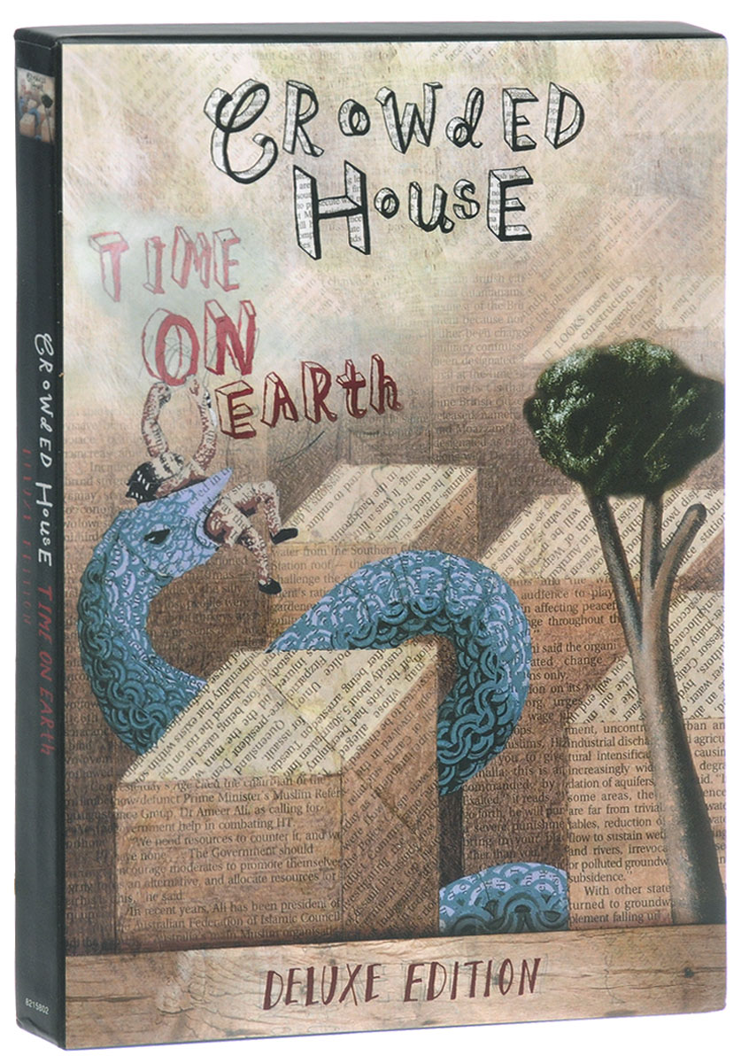 Crowded House Crowded House. Time On Earth. Deluxe Edition (2 CD) woody guthrie house of earth