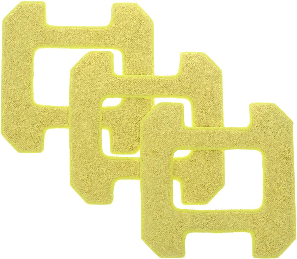Hobot 268, Yellowчистящие салфетки для влажной уборки, 3 шт Hobot