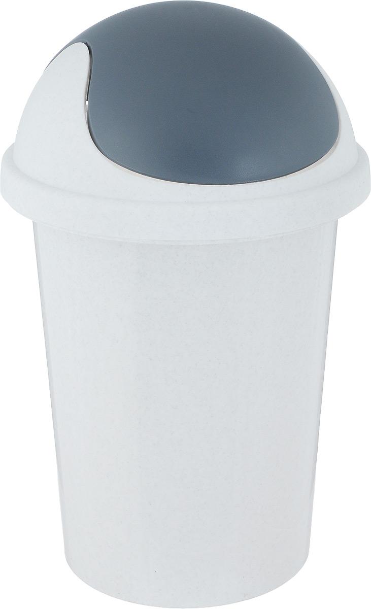 Контейнер для мусора Plastic Centre, цвет: мраморный, 10 лПЦ2547МРМусорный контейнер Plastic Centre поможет поддержать порядок и чистоту на кухне, в туалетной комнате или в офисе. Контейнер выполнен из полипропилена. Изделие оснащено крышкой-качалкой, которая удобна в использовании. Скрытые борта в корпусе изделия для аккуратного использования одноразовых пакетов и сохранения эстетики изделия. Съемная верхняя часть контейнера обеспечивает удобство извлечения накопившегося мусора. Эстетика изделия превращает необходимый предмет кухни или туалетной комнаты в стильное дополнение к интерьеру. Его легкость и прочность оптимально решают проблему сбора мусора. Размер: 26,7 х 26,7 х 42 см.