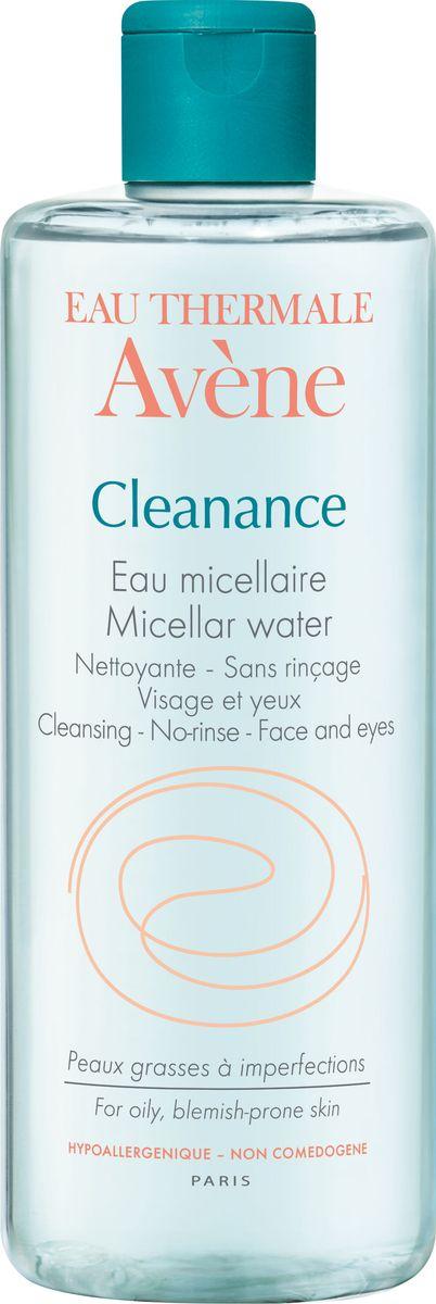Avene Мицеллярная вода Cleanance, 400 мл авен клинанс набор вода мицеллярная 400мл 2шт