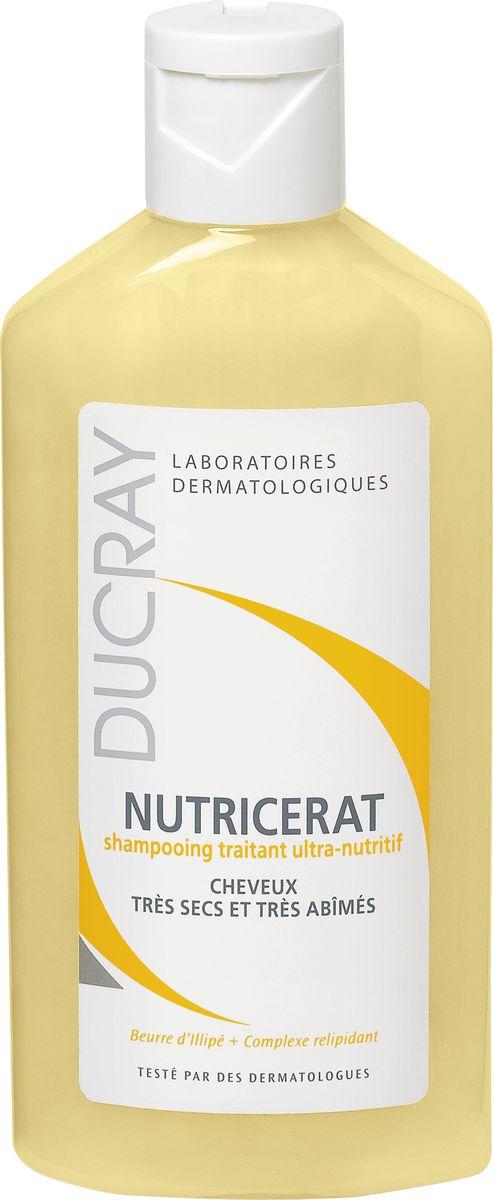 цена на Ducray Сверхпитательный шампунь Nutricerat, 200 мл
