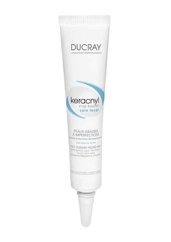 Ducray Стоп-Акне Корректор Keracnyl для проблемной кожи 10мл разглаживающая сыворотка для лица ducray keracnyl для проблемной кожи 30 мл