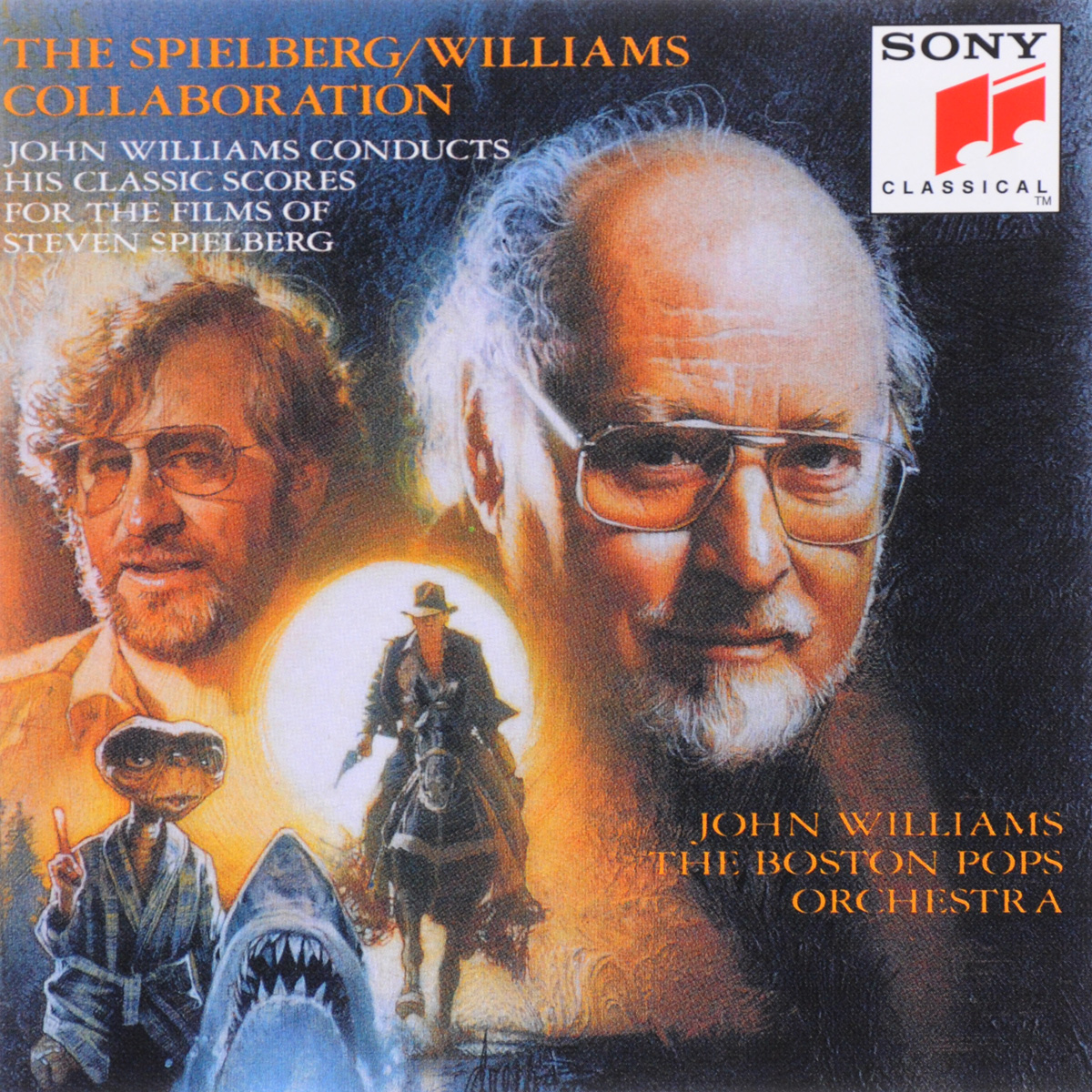 цена на Джон Уильямс,The Boston Pops Orchestra John Williams. The Spielberg / Williams Collaboration