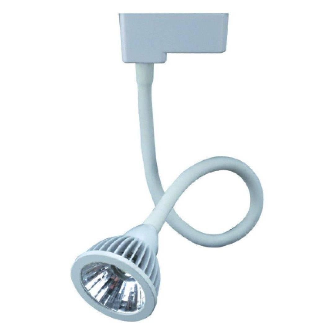 Трековый светодиодный светильник Arte Lamp Track Lights A4107PL-1WH favourite трековый светодиодный светильник arte lamp track lights a4107pl 1bk
