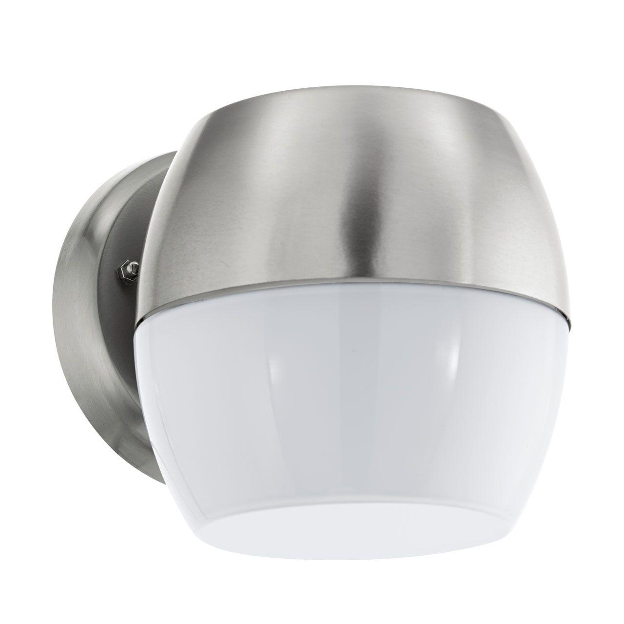 все цены на Уличный настенный светодиодный светильник Eglo Oncala 95982 онлайн