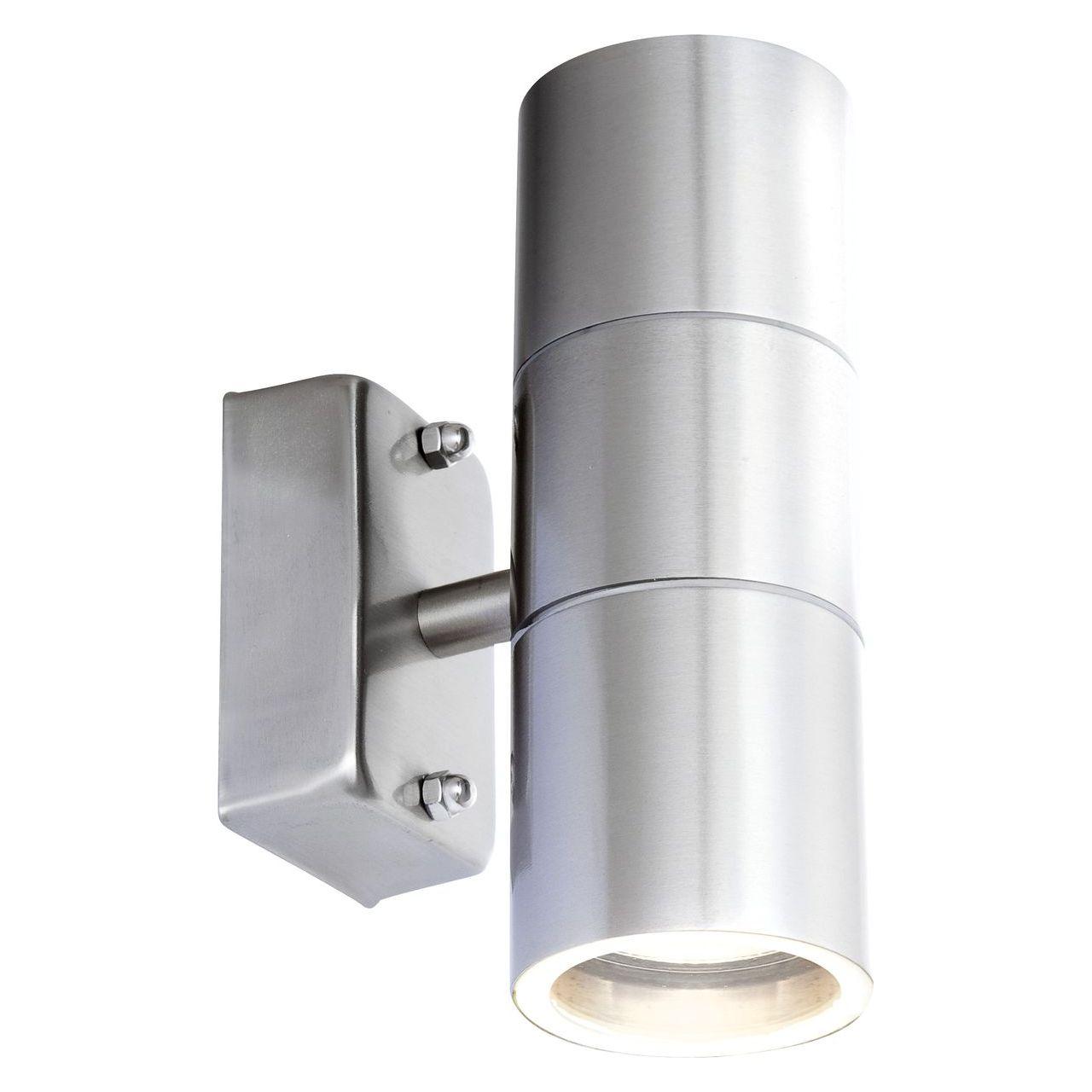 цена на Уличный настенный светодиодный светильник Globo Style 3201-2L