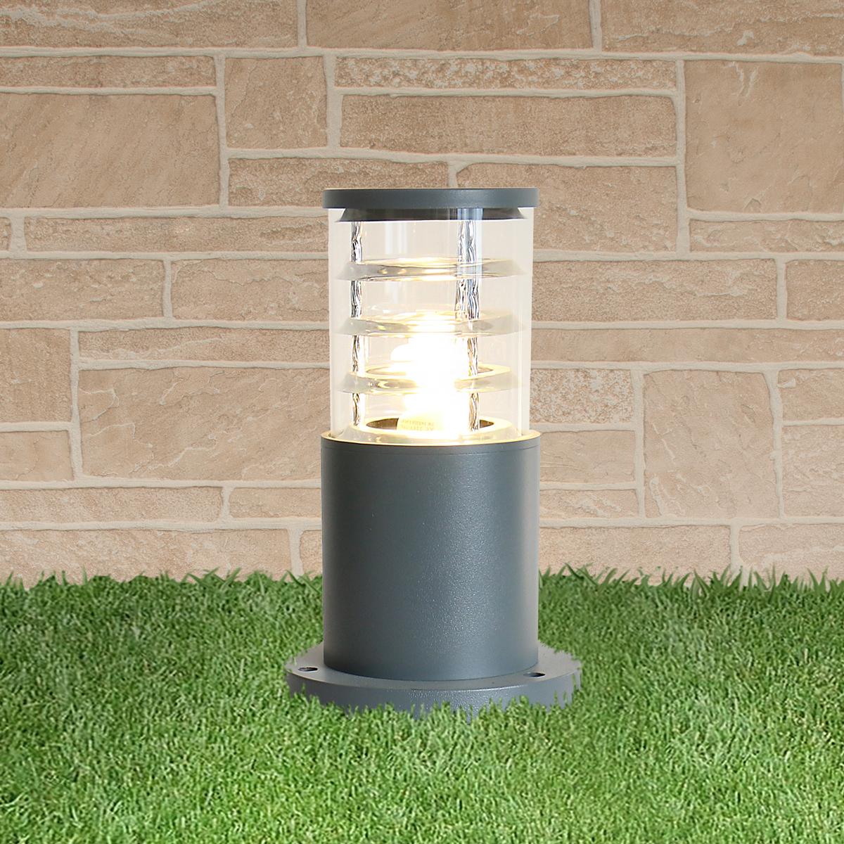 Напольный светильник Elektrostandard, E27 уличный светильник elektrostandard techno 5612 серый