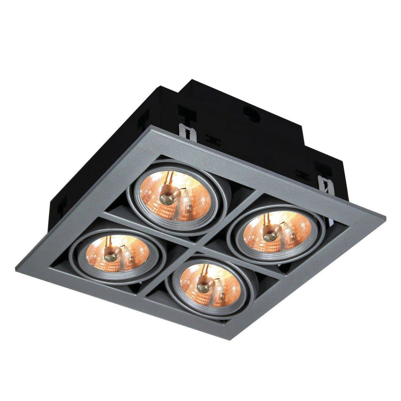 Встраиваемый светильник Arte Lamp, G5.3, 200 Вт встраиваемый светильник arte lamp cardani a5930pl 4bk