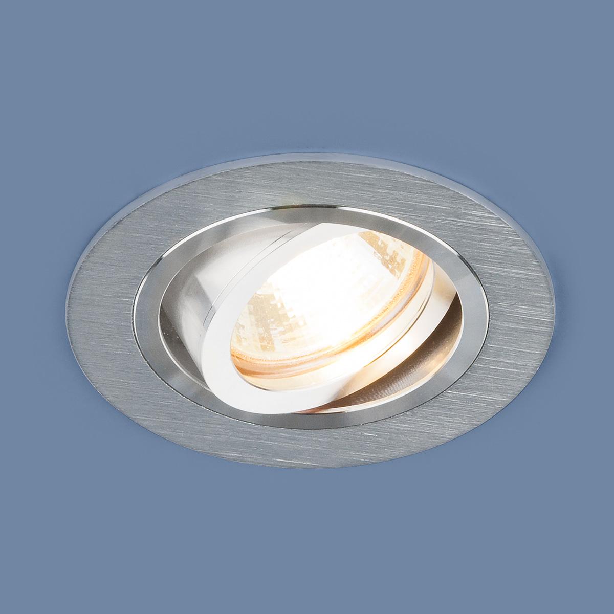 Встраиваемый светильник Elektrostandard, G5.3, 50 Вт встраиваемый светильник elektrostandard 1061 1 mr16 sl серебро 4690389095498