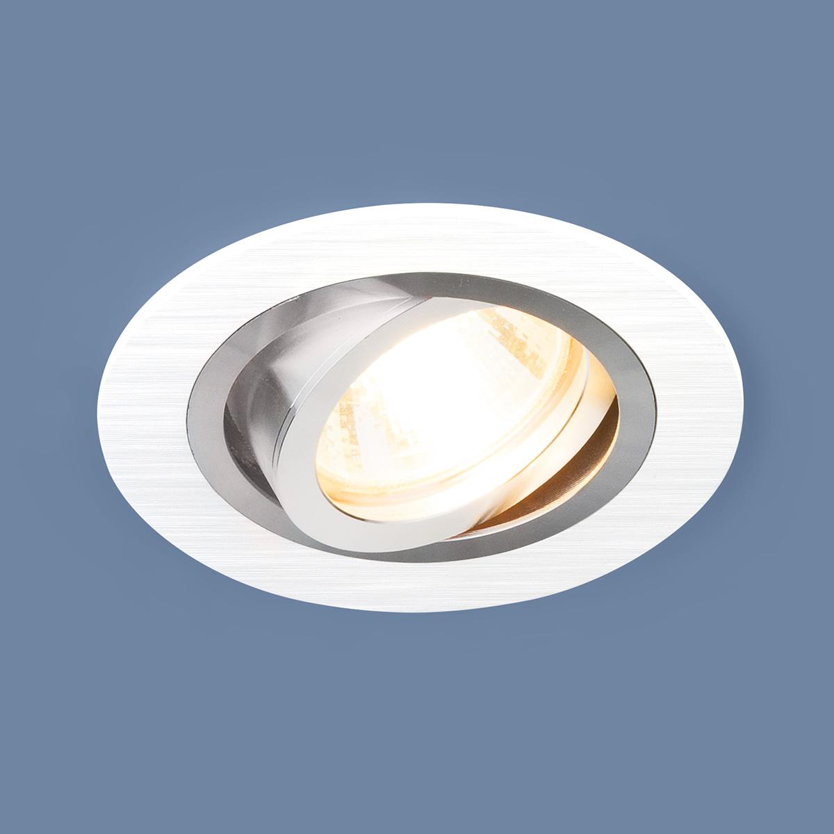 Встраиваемый светильник Elektrostandard, G5.3, 50 Вт светильник встраиваемый поворотный italmac montana 51 1 01 mr16 цвет белый it8091