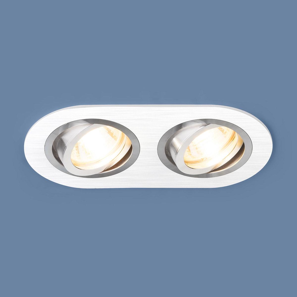 Встраиваемый светильник Elektrostandard, G5.3, 100 Вт недорго, оригинальная цена