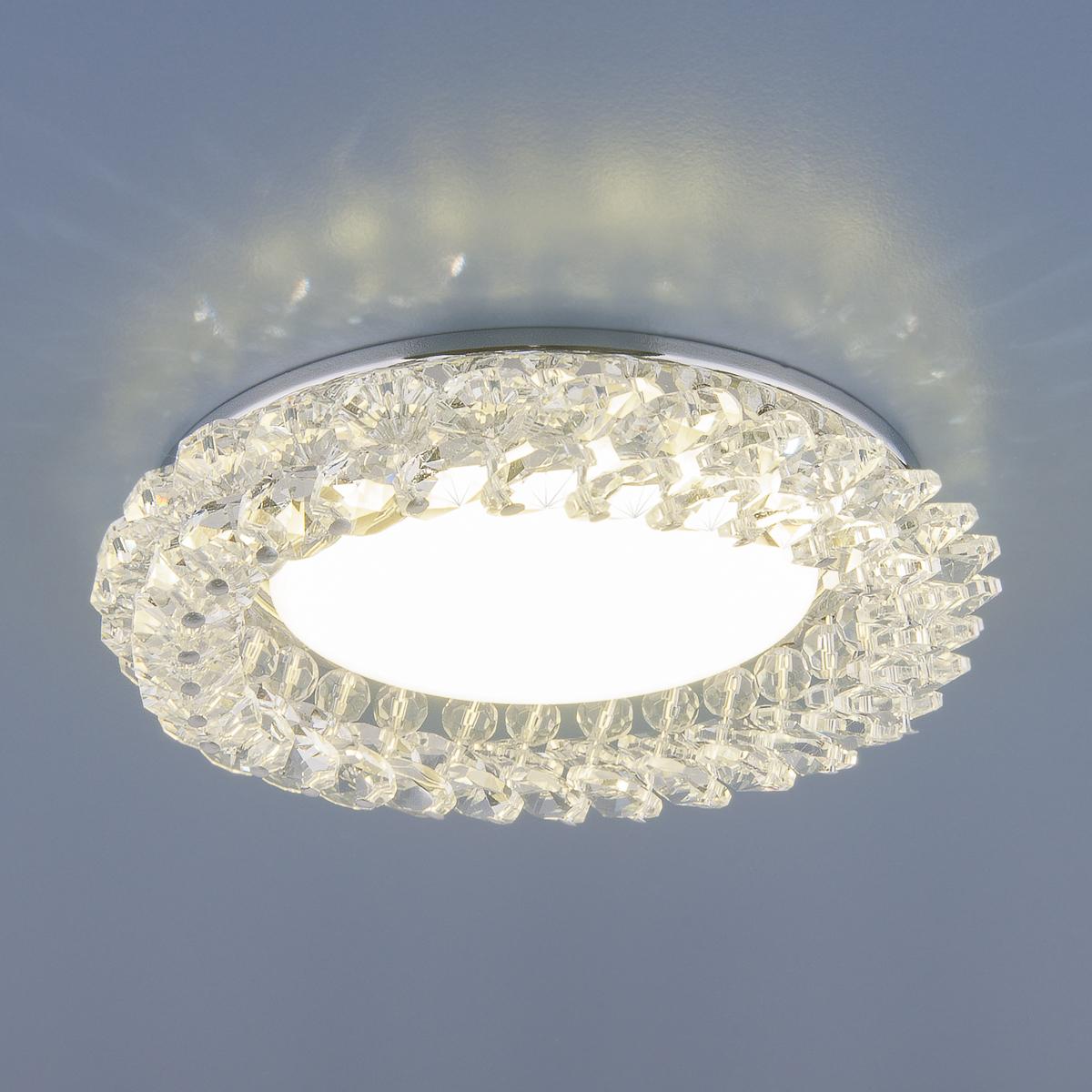 Встраиваемый светильник Elektrostandard, GX53, 13 Вт