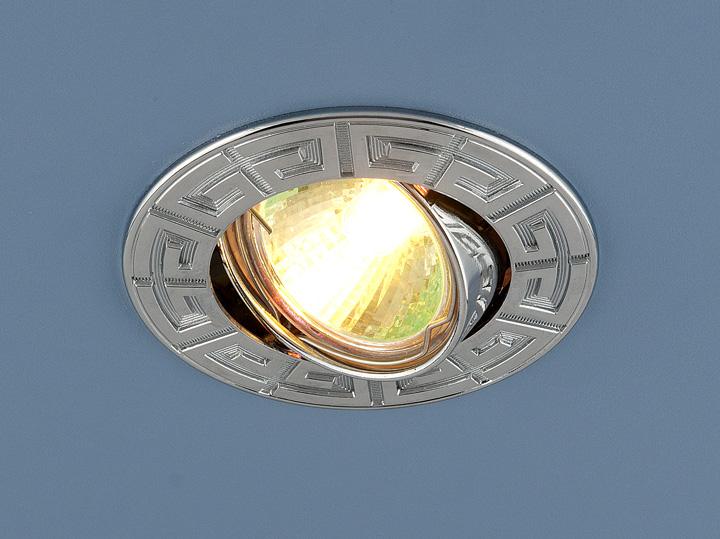 Встраиваемый светильник Elektrostandard, G5.3, 50 Вт
