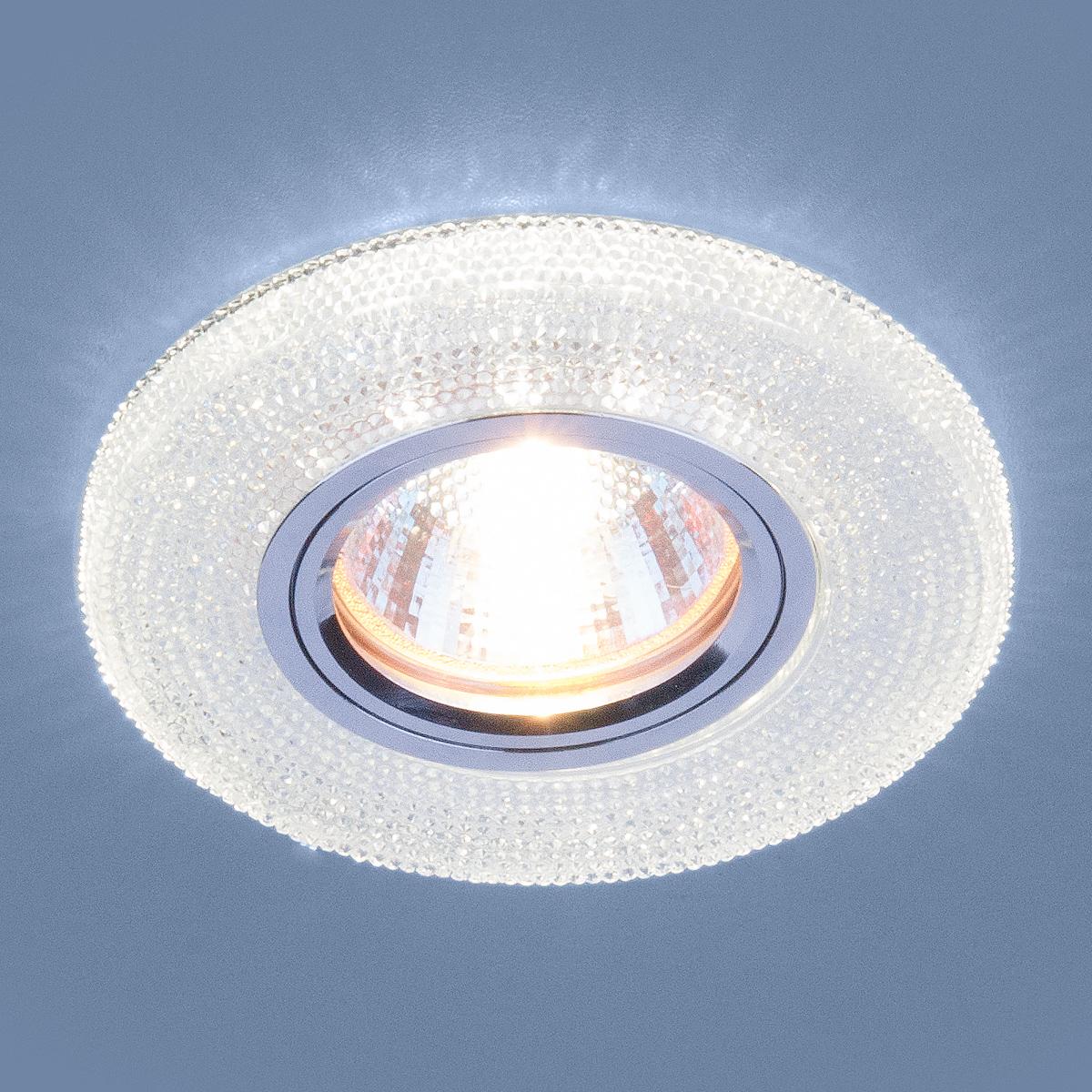 Встраиваемый светильник Elektrostandard, G5.3, 50 Вт встраиваемый светильник elektrostandard g5 3 50 вт