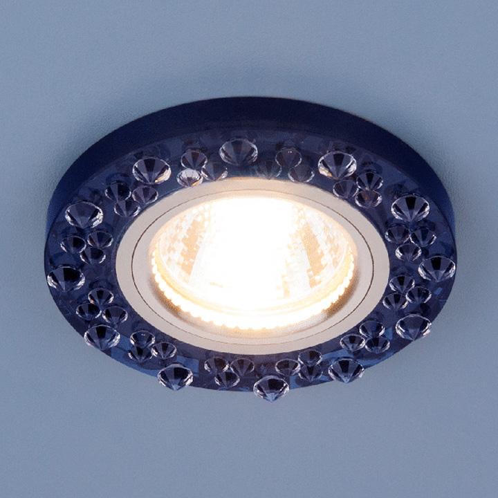 Встраиваемый светильник Elektrostandard, G5.3, 50 Вт встраиваемый светильник elektrostandard 8260 mr16 sp ch сапфир хром 4690389057410