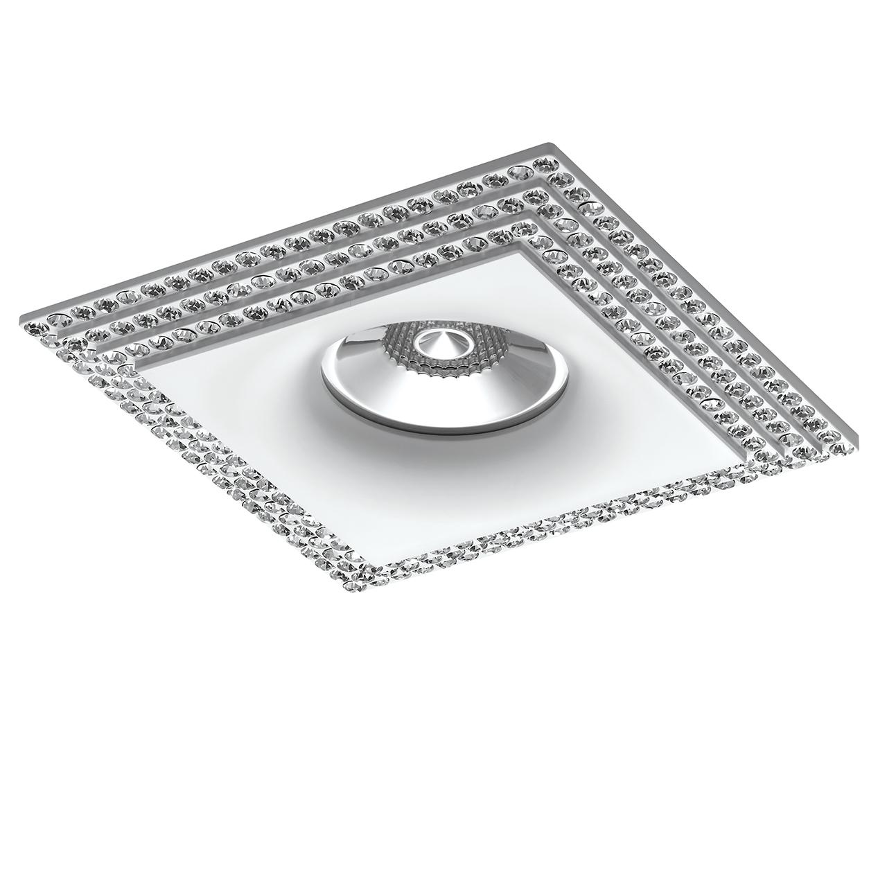 Встраиваемый светильник Lightstar, GU10, 50 Вт встраиваемый светильник lightstar gu10 50 вт