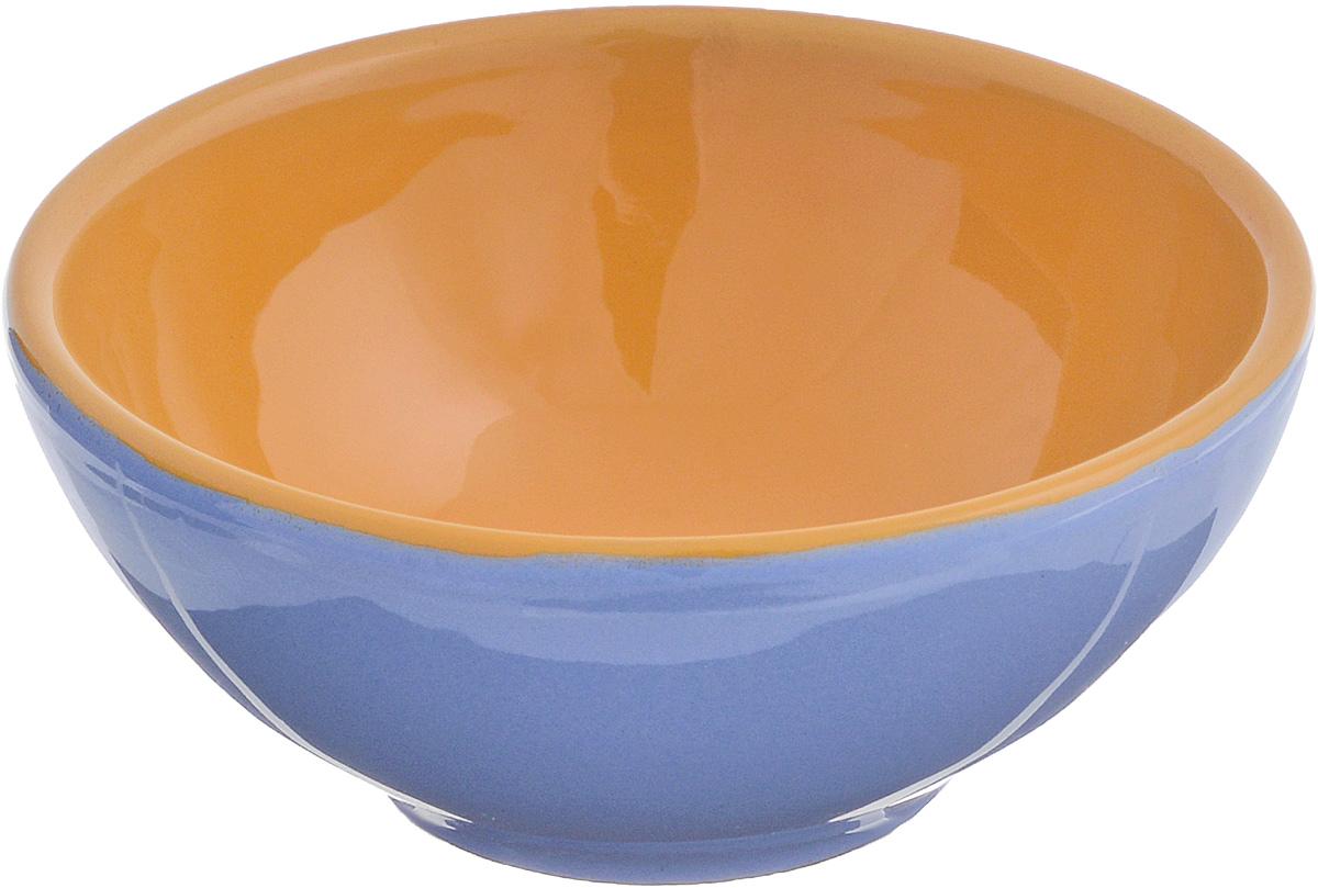 Розетка для варенья Борисовская керамика Радуга, цвет: фиолетовый, светло-коричневый, 200 мл розетка для варенья борисовская керамика радуга цвет голубой 200 мл